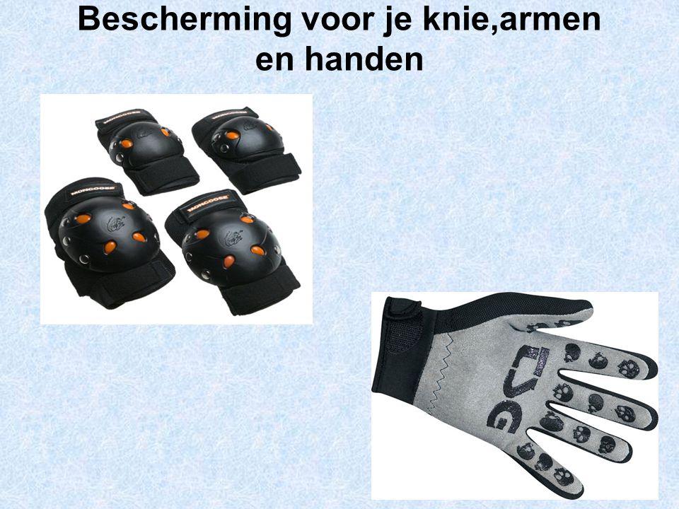 Bescherming voor je knie,armen en handen