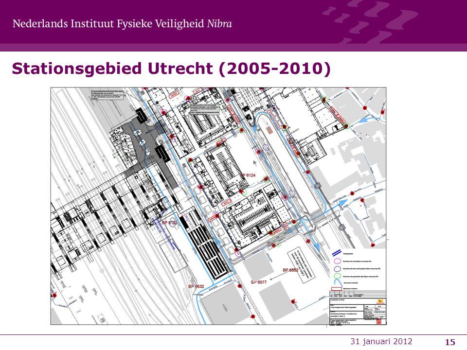 Stationsgebied Utrecht (2005-2010) 15 31 januari 2012