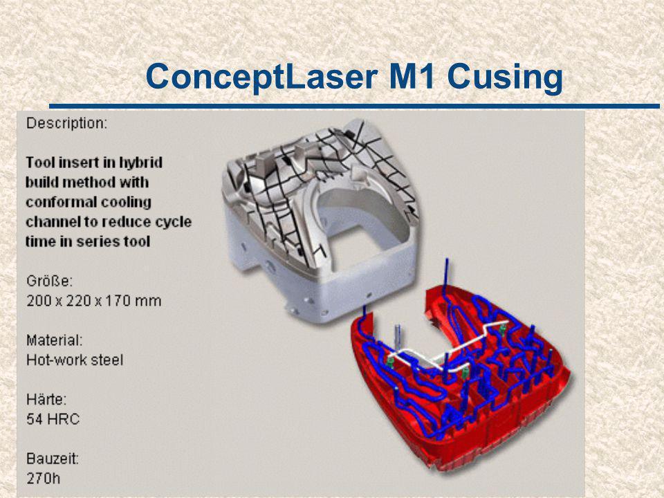 ConceptLaser M1 Cusing Een goedkoper alternatief