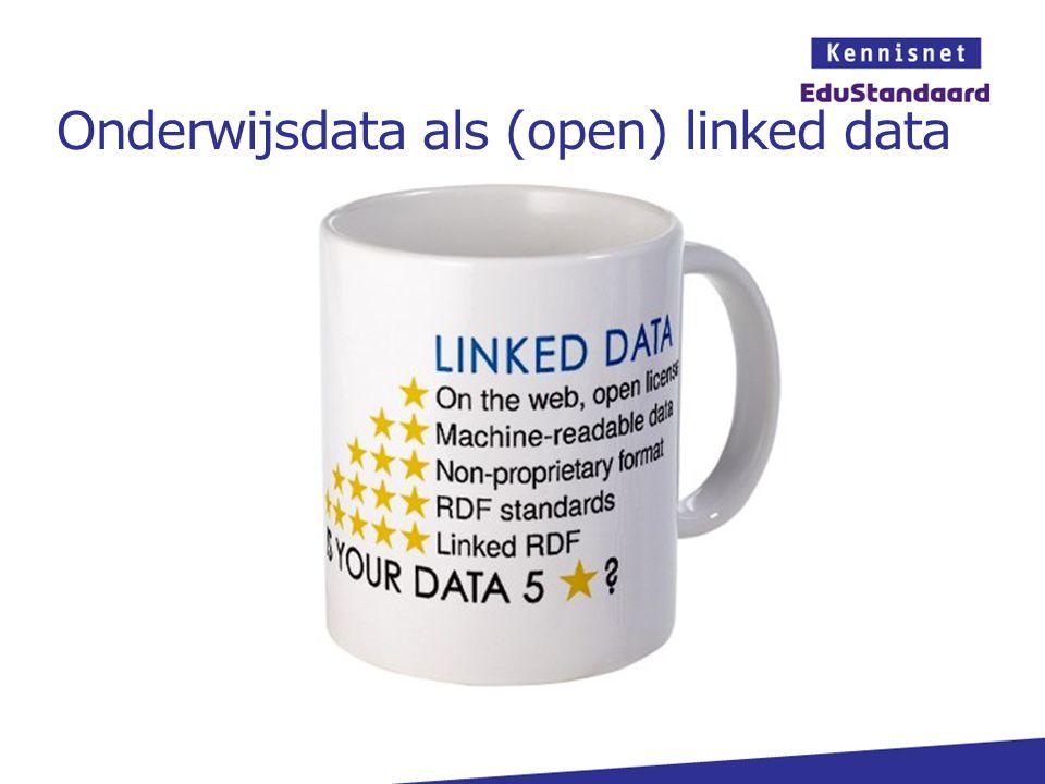 Onderwijsdata als (open) linked data
