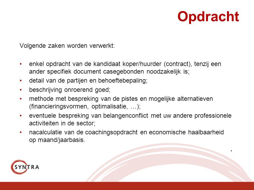 Slot De tekst ivm het assessment is te vinden op www.vastgoedplatform.be/forum www.vastgoedplatform.be/forum Vragen.