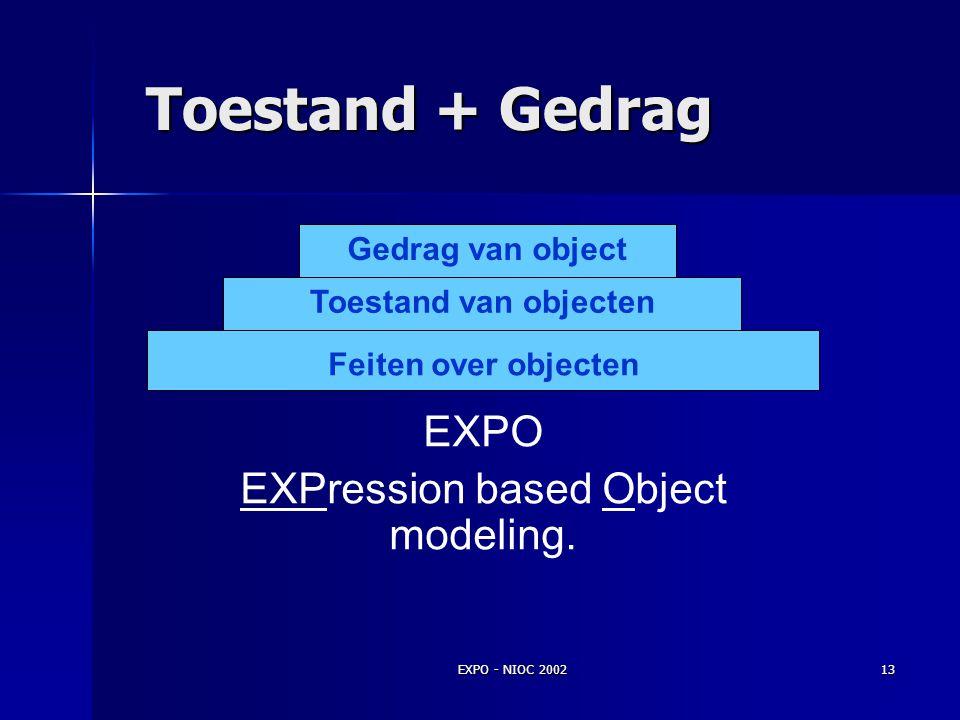EXPO - NIOC 200212 Relatie als uitgangspunt
