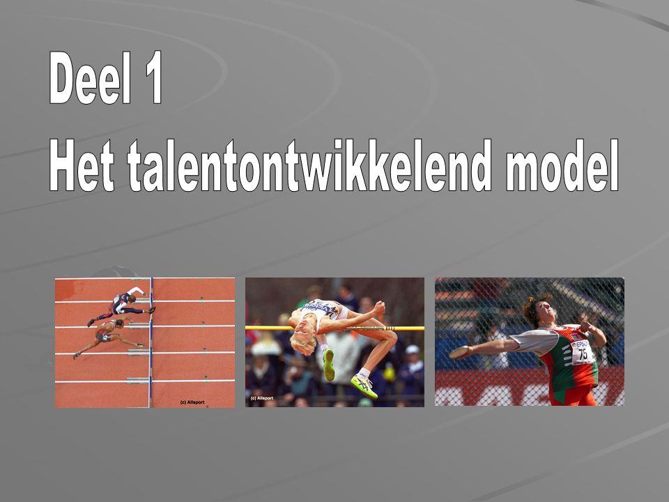 Hoofdstuk 1: Inleiding Hoofdstuk 2: Talentontwikkeling Hoofdstuk 3: Algemene talentontwikkeling Hoofdstuk 4: Specifieke talentwikkeling Hoofdstuk 5: Zin en onzin van competitie bij kinderen