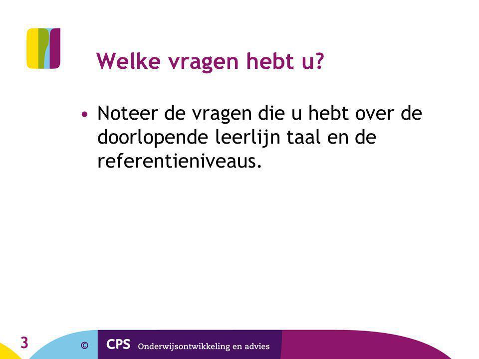 34 Vragen? Lydia van Deelen-Meeng l.vandeelen@cps.nl M:06-55898565