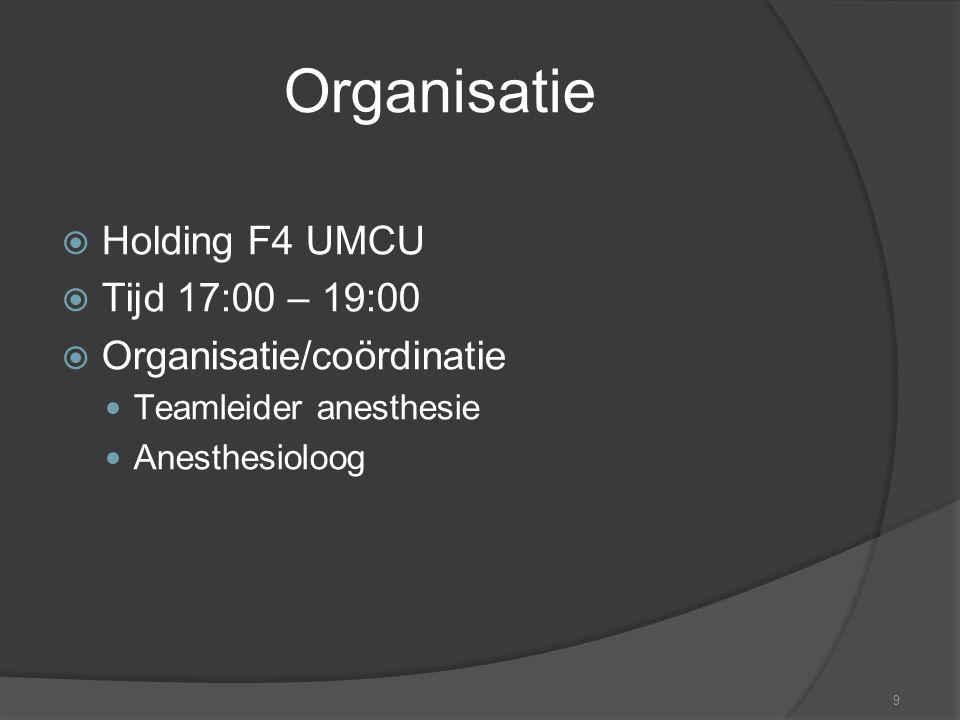 10 Instructeurs  Elk apparaat inhoudsdeskundige IC verpleegkundige (superusers) Anesthesie-medewerkers (superusers) Laborant Staflid anesthesiologie