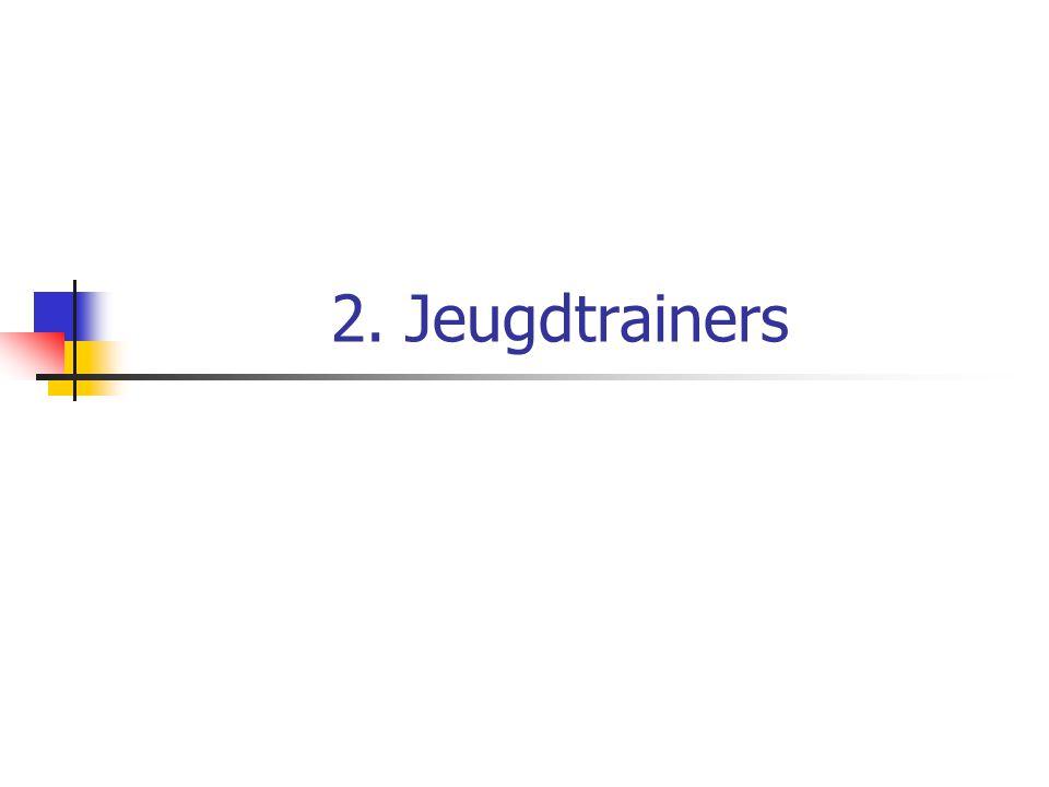 2. Jeugdtrainers