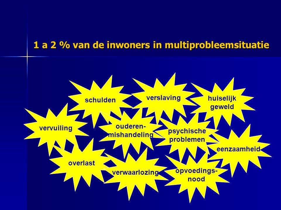 Herstel & Reïntegratie Bemoeizorg & Toeleiding Signalering & Vroeghulp Preventie Opvang & Doorstroom Stichting Zelfhulpnetw 41 zelfhulpgroepen ????.