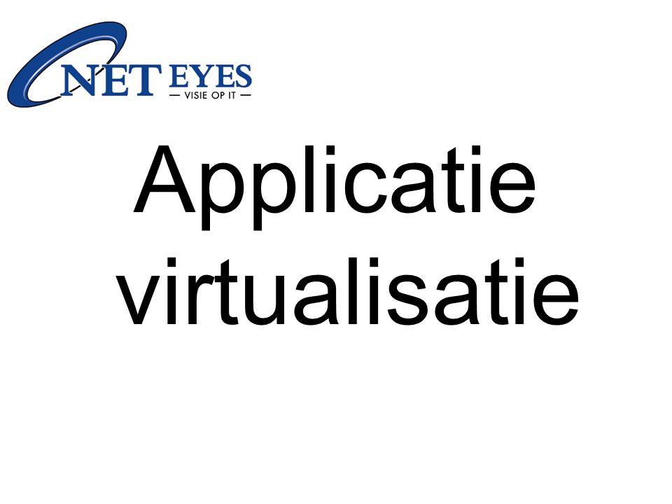 Target executable is gemaakt Applicatie is klaar voor gebruik Kan worden geplaatst op netwerk share, USB stick...