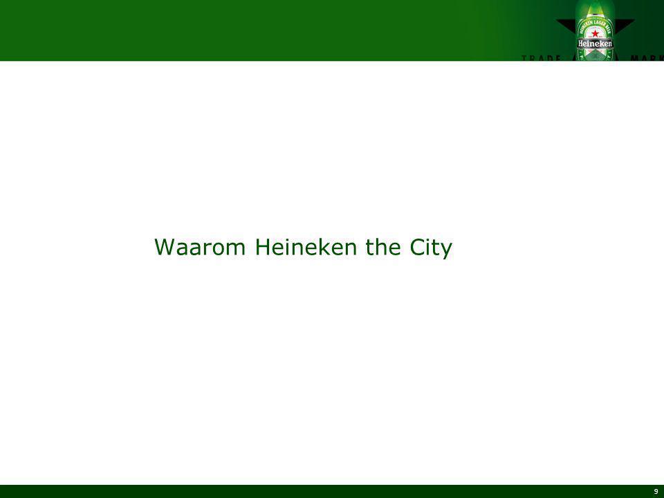 9 Waarom Heineken the City