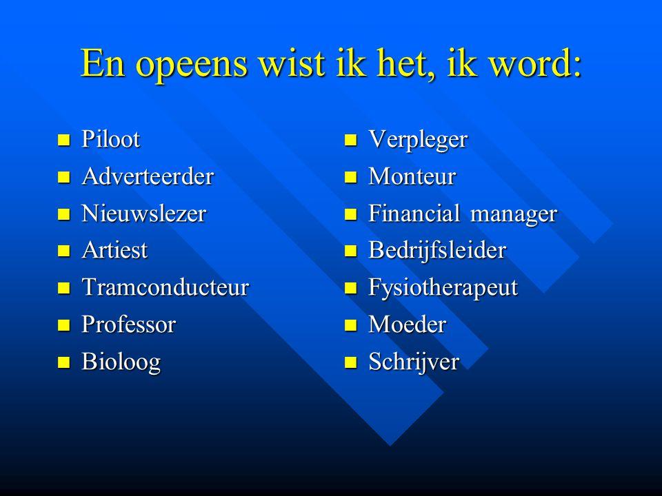Welkom Profielkeuzevoorlichting Afd.hoofd: Dhr.R.