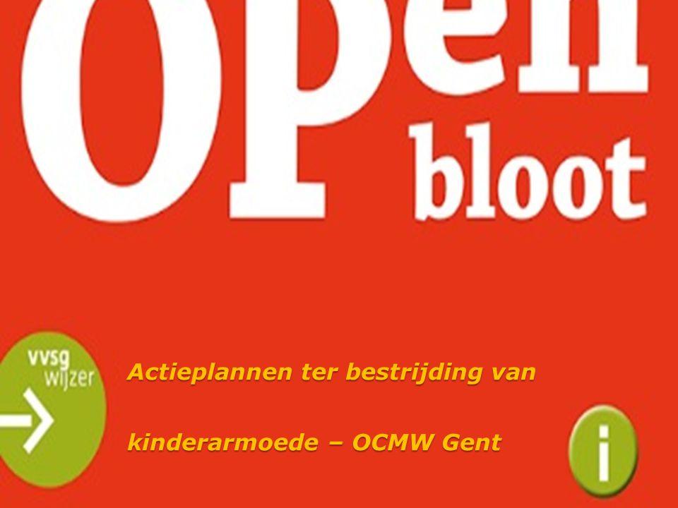 Actieplannen ter bestrijding van kinderarmoede – OCMW Gent