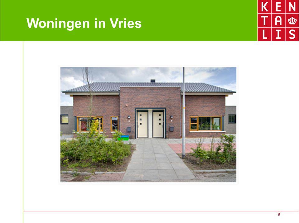 9 Woningen in Vries