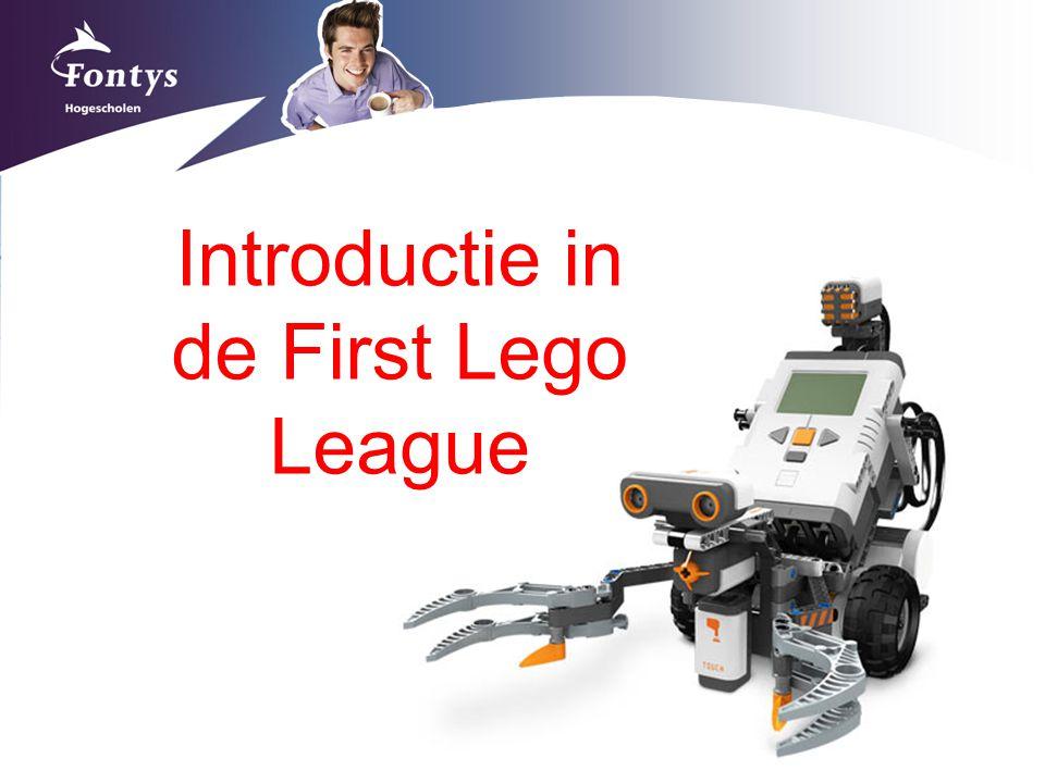Introductie in de First Lego League