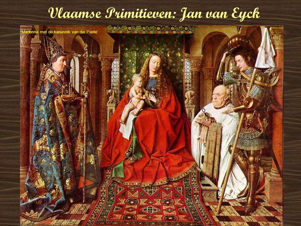 Vlaamse Primitieven: Jan van Eyck 'Madonna met de kanunnik van der Paele'