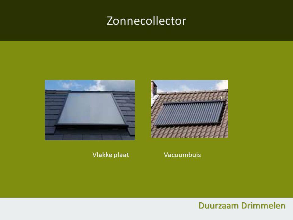Zonnecollector Vlakke plaat Vacuumbuis Duurzaam Drimmelen
