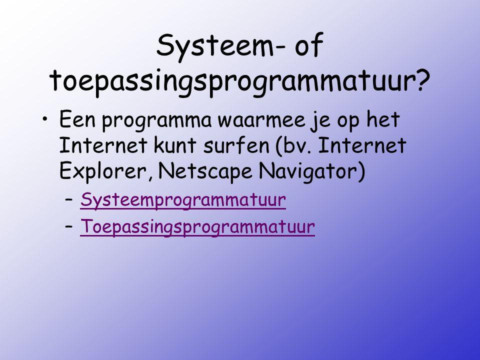 Benoem onderstaande afbeelding: –PDAPDA –LaptopLaptop –MainframeMainframe –SysteemeenheidSysteemeenheid