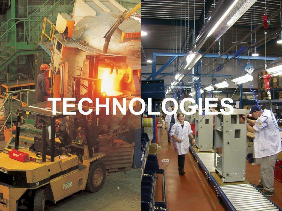 10 Technologies: Proferro & BUMAC Proferro - Gieterij - Producten: gietijzeren eindproducten voor Picanol-weefmachines en onderdelen voor o.a.