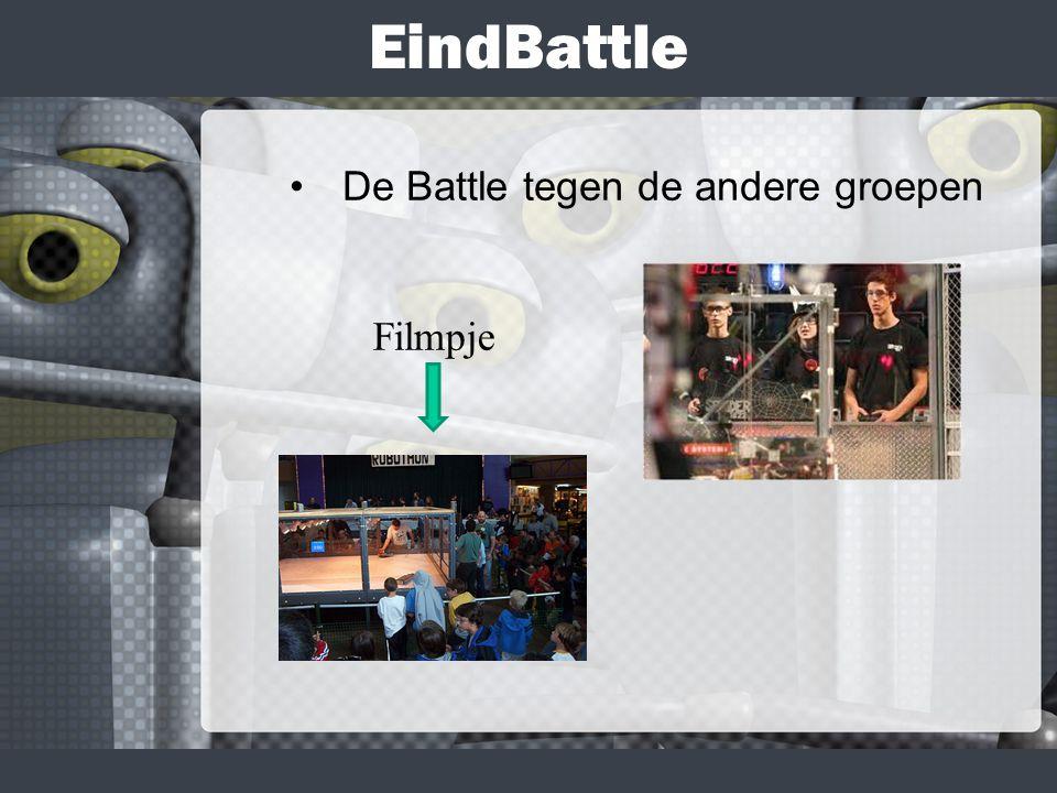 EindBattle De Battle tegen de andere groepen Filmpje