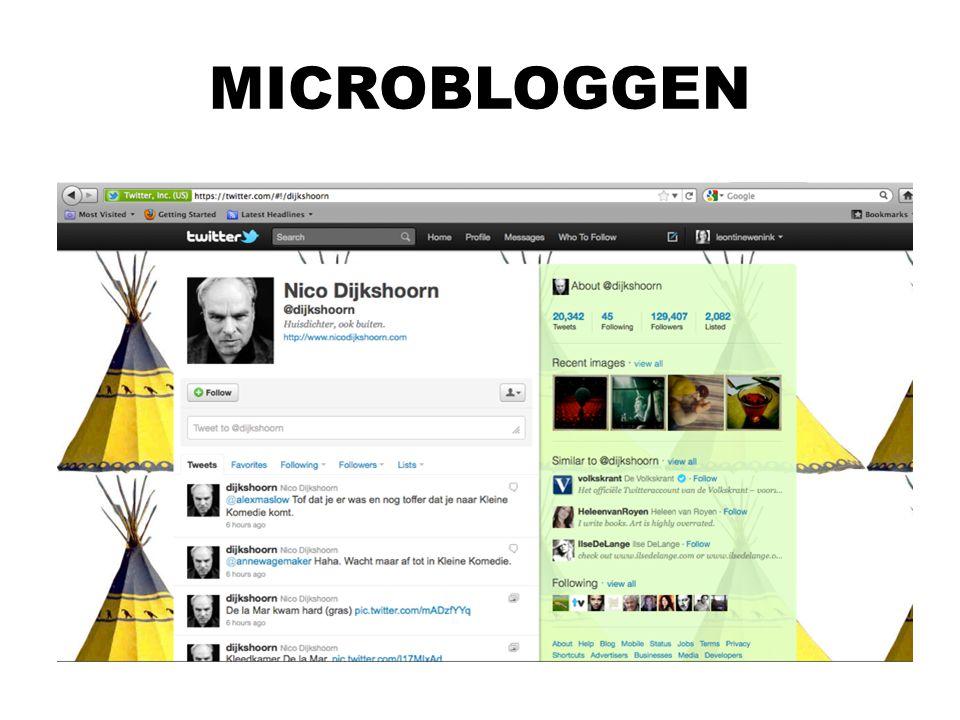MICROBLOGGEN