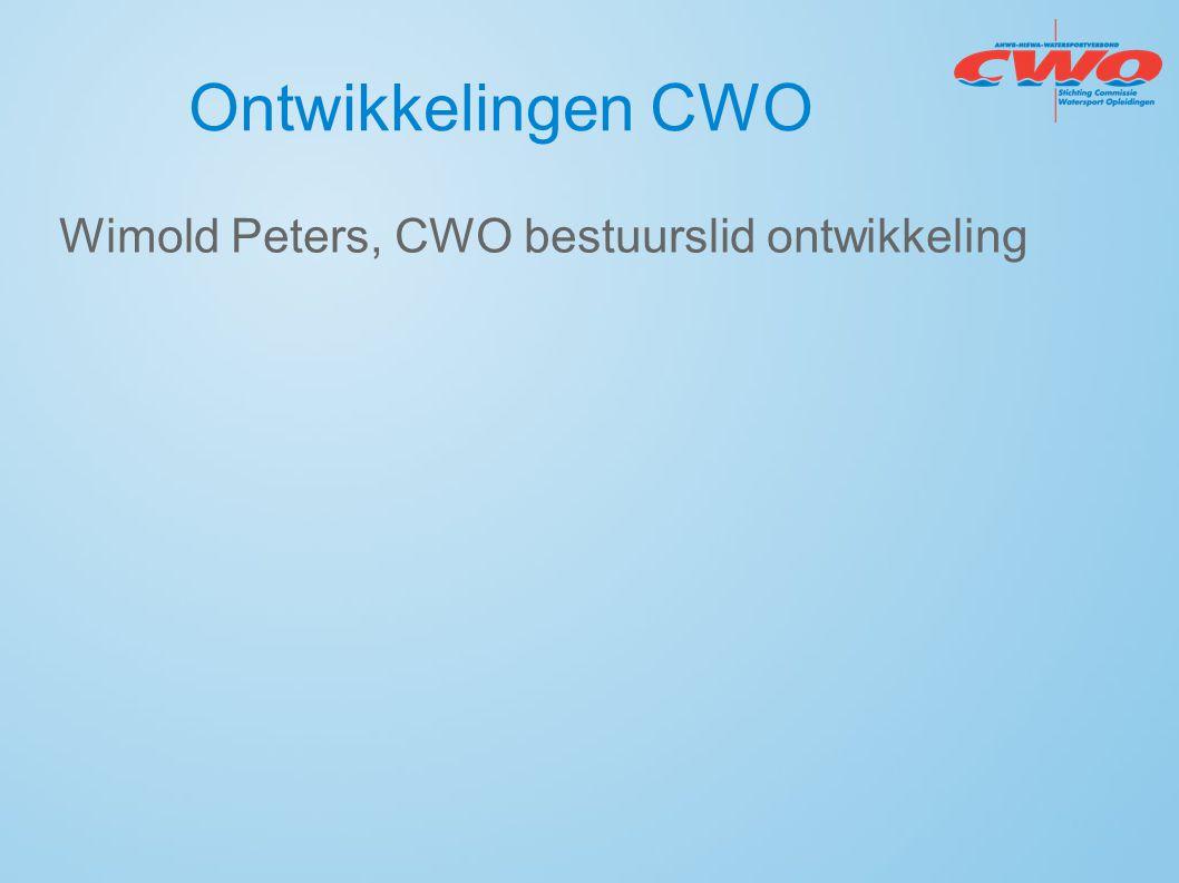 Ontwikkelingen CWO Wimold Peters, CWO bestuurslid ontwikkeling