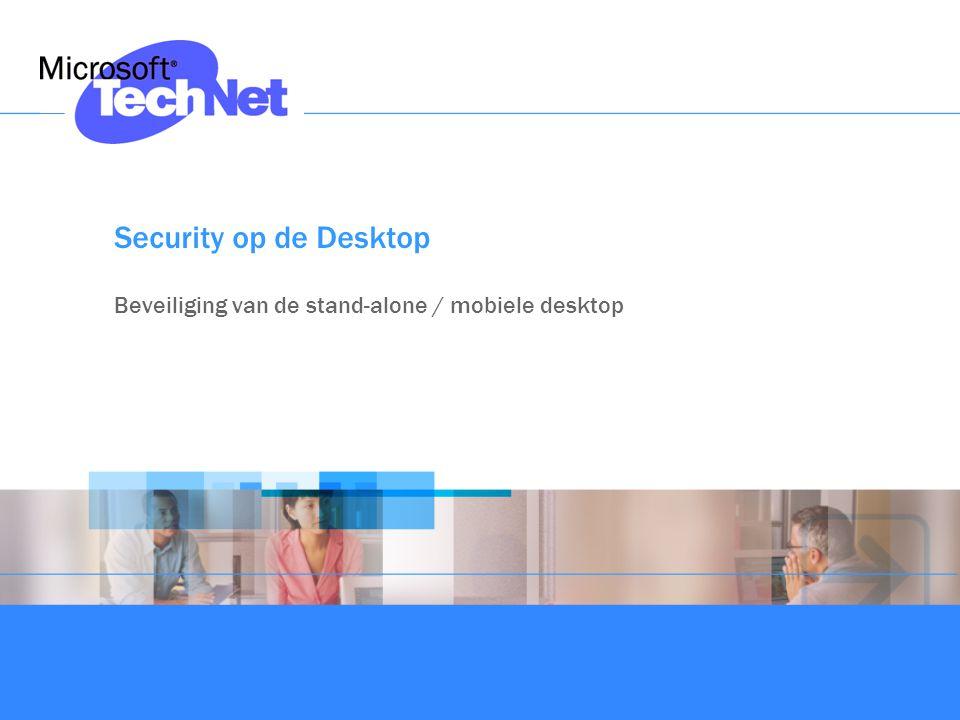 Security op de Desktop Beveiliging van de stand-alone / mobiele desktop