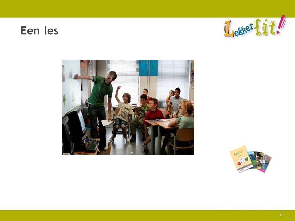 13 Een les Lekker fit!, Praktijk