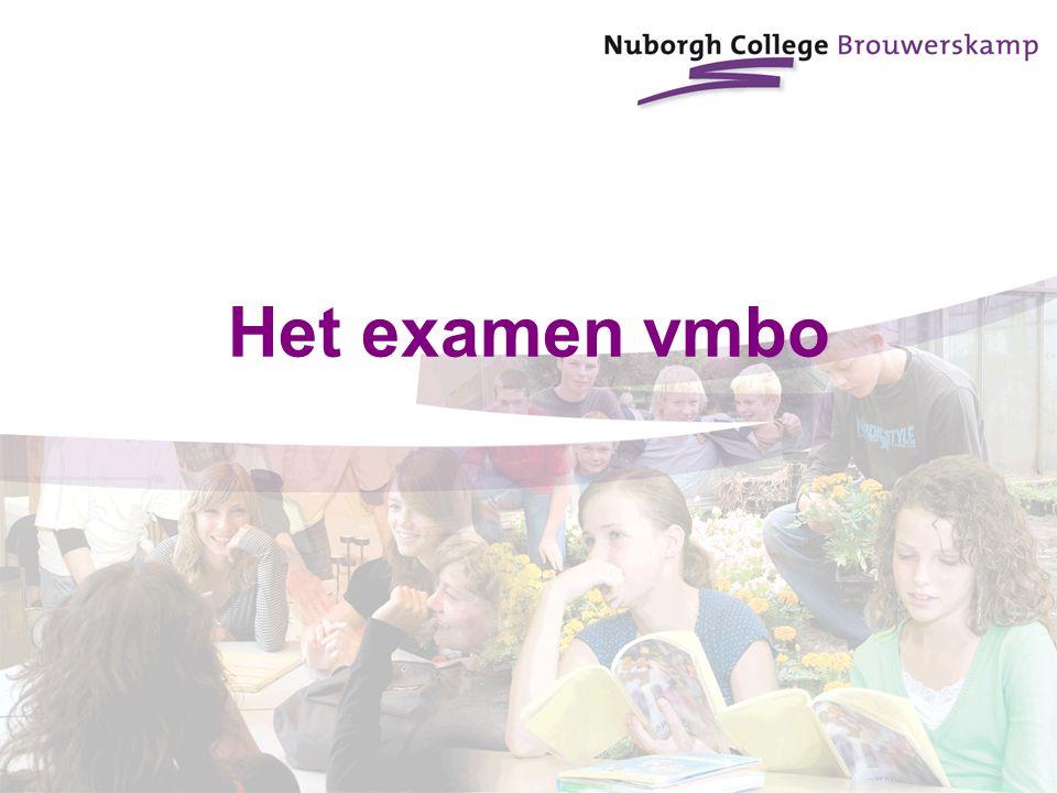 Het examen vmbo