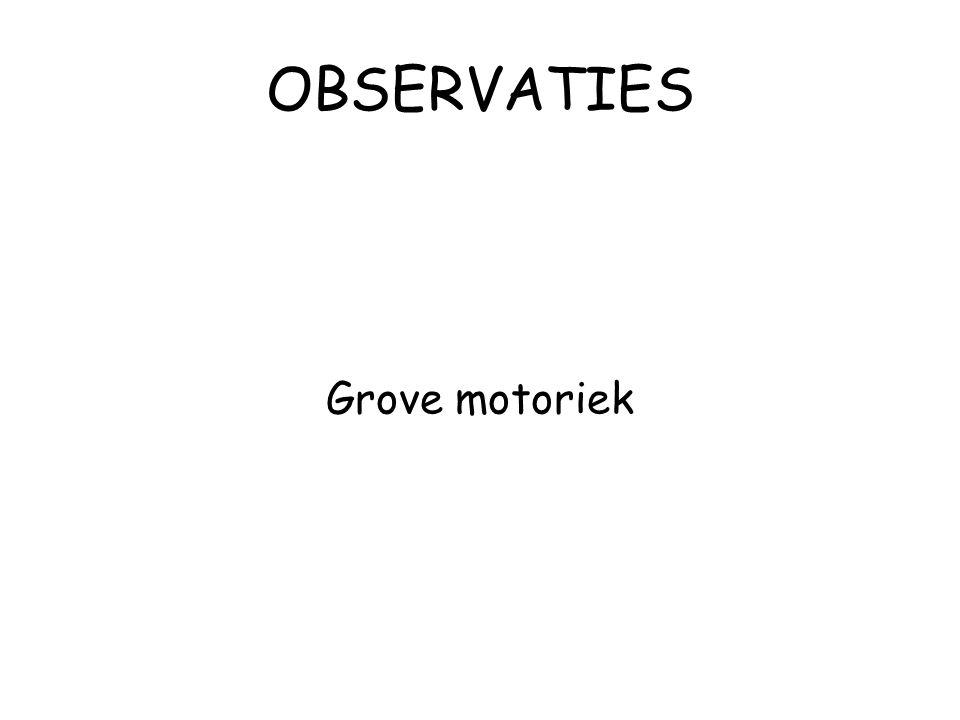 Grove motoriek