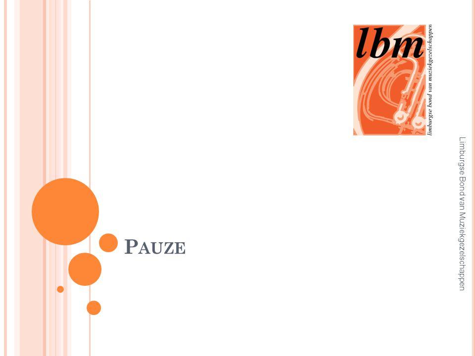 P AUZE Limburgse Bond van Muziekgezelschappen