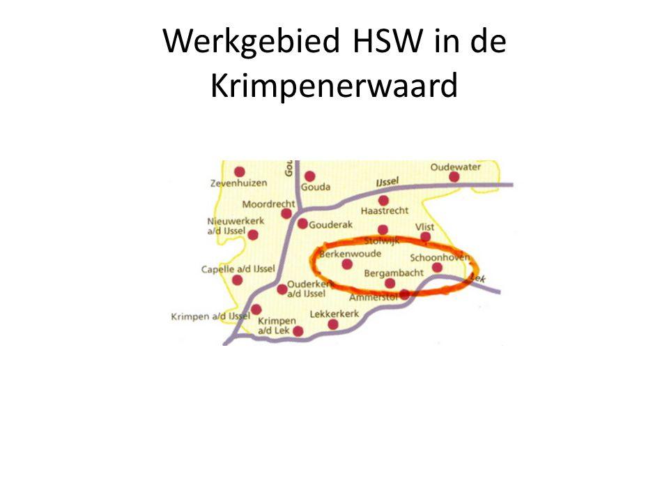Werkgebied HSW in de Krimpenerwaard