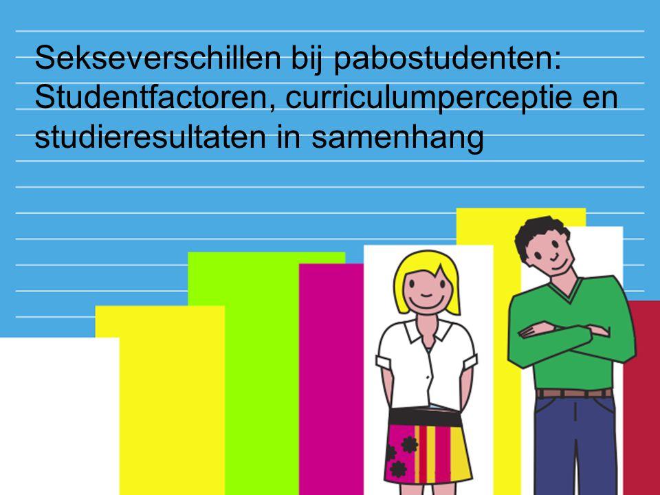 Opleidingsfactoren: Curriculumperceptie Dataverzameling: - inhoudanalyse op portfolio's - open gestandaardiseerd interview -een keer na 2.5 studiejaar Analyse volgens de Grounded theory-approach