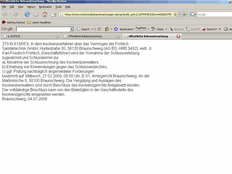 20 23-06-2011Europese e-Justice Insolventieregisters Pilot Technisch interoperabel (XML) Meertaligheid Databescherming (EDPS, COM-besluit).