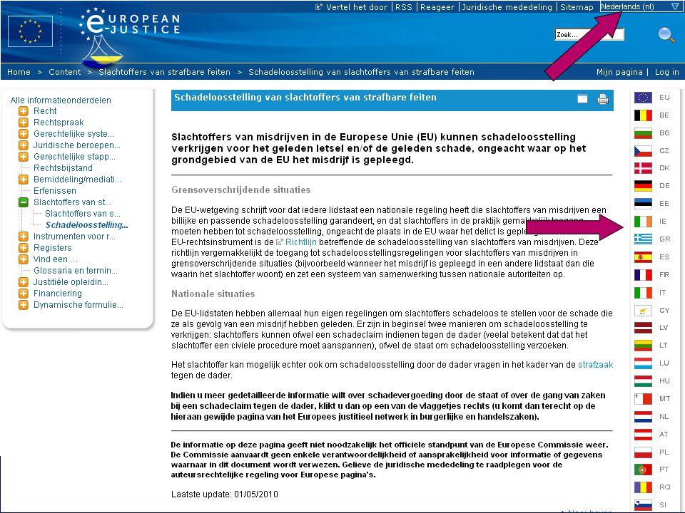 6 23-06-2011Europese e-Justice