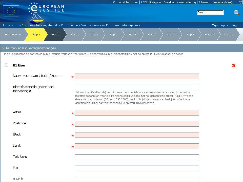 9 23-06-2011Europese e-Justice