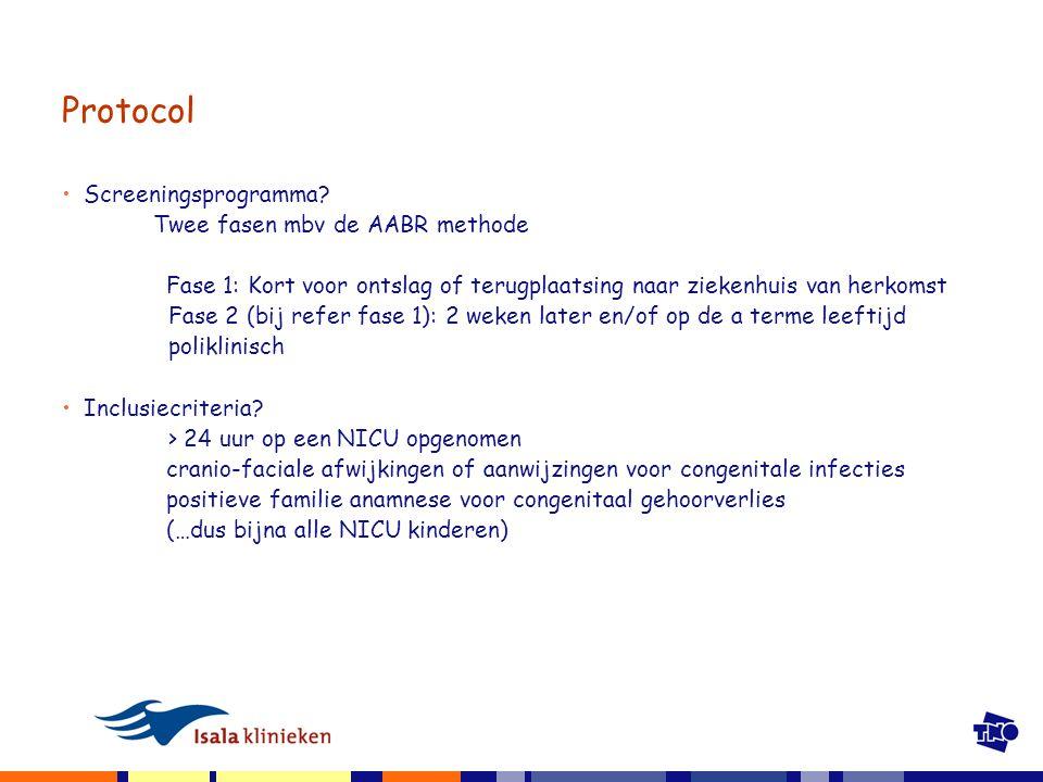 Protocol Screeningsprogramma.