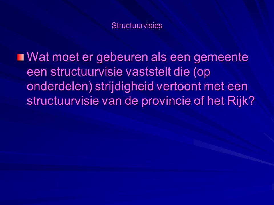 Structuurvisies Wat is een structuurvisie in het kader van de nieuwe Wro?