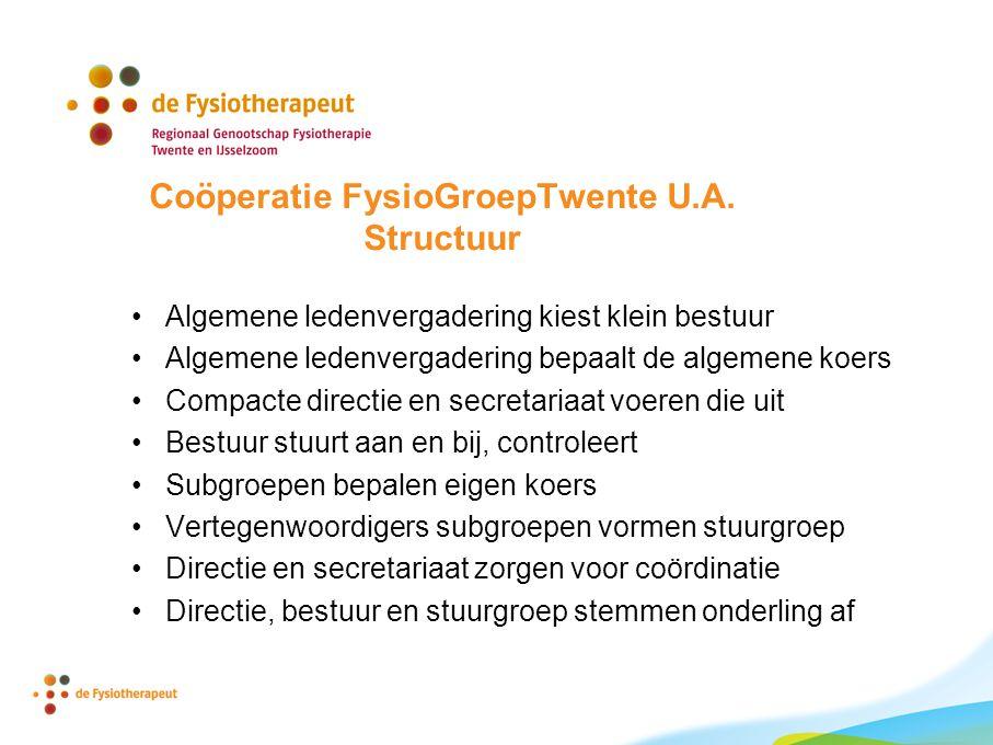 Coöperatie FysioGroepTwente U.A.