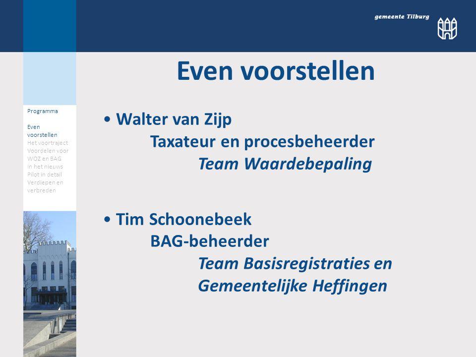 07-11-2012 Walter van Zijp en Tim Schoonebeek Gemeente Tilburg