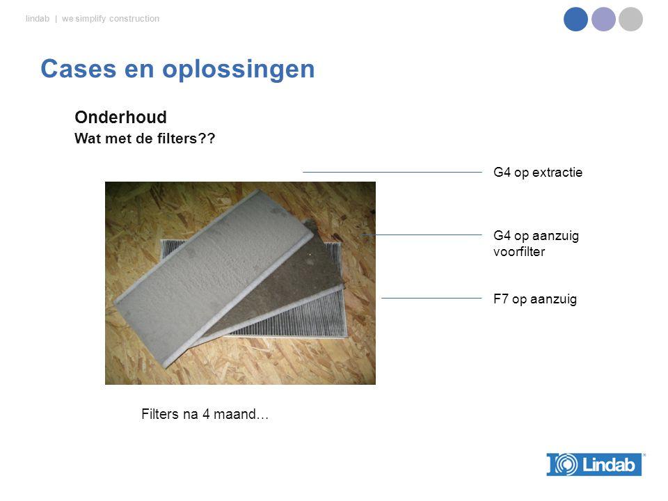 lindab | we simplify construction Onderhoud Wat met de filters?.