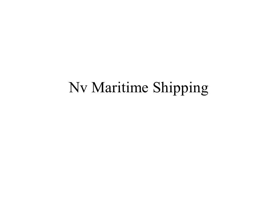 Nv Maritime Shipping