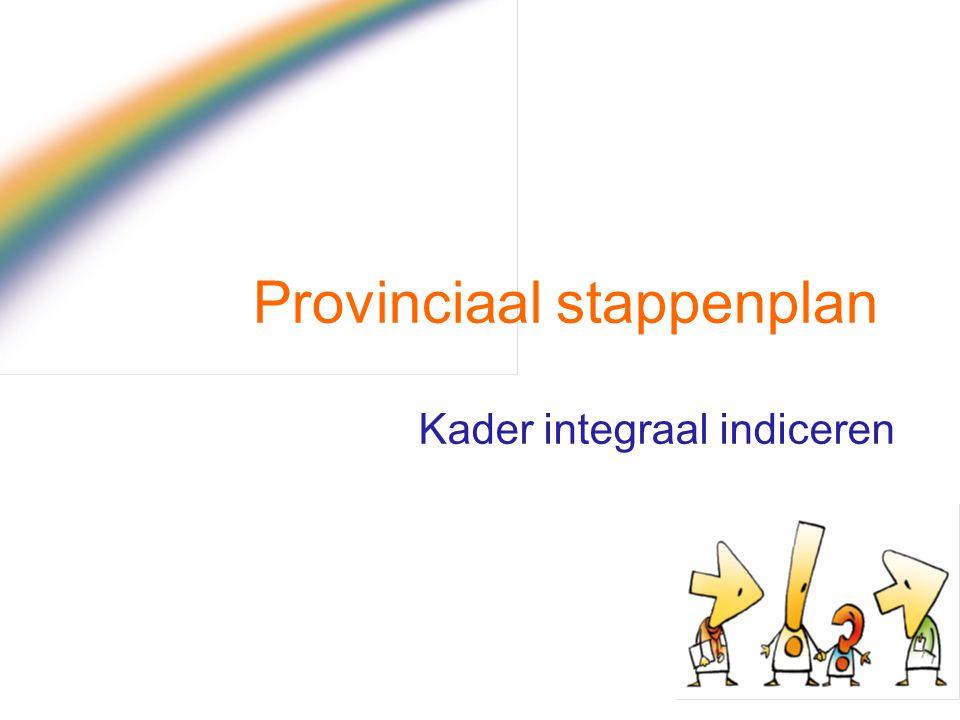 Provinciaal stappenplan Kader integraal indiceren