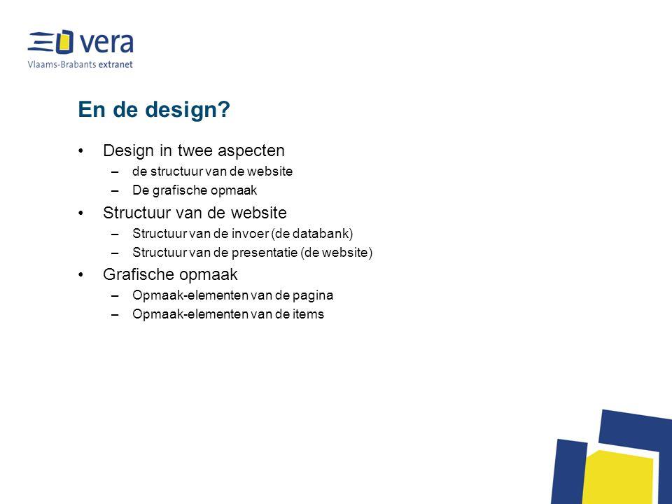 En de design.