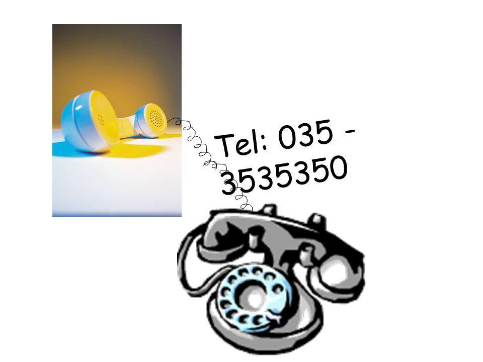 Tel: 035 - 3535350