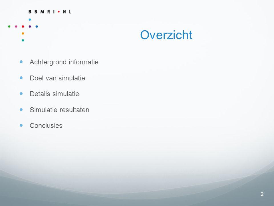 3 Achtergrond informatie Doel: Een best practice ontwikkelen voor het koppelen van privacy gevoelige data, o.b.v.