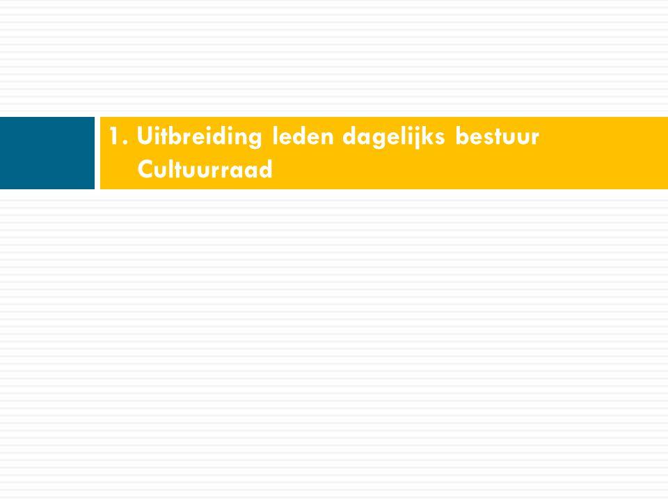 Werking in de praktijk  Vertegenwoordiging CR:  Voorzitter, ondervoorzitter en dagelijks bestuur proberen te zorgen voor een actieve vertegenwoordiging  Herkenbaarheid via pin CR  Werkgroepen  Werking werkgroepen blijft behouden  Op basis van nieuwe beleidsplan extra inzet op overleg en samenwerking met andere adviesraden.