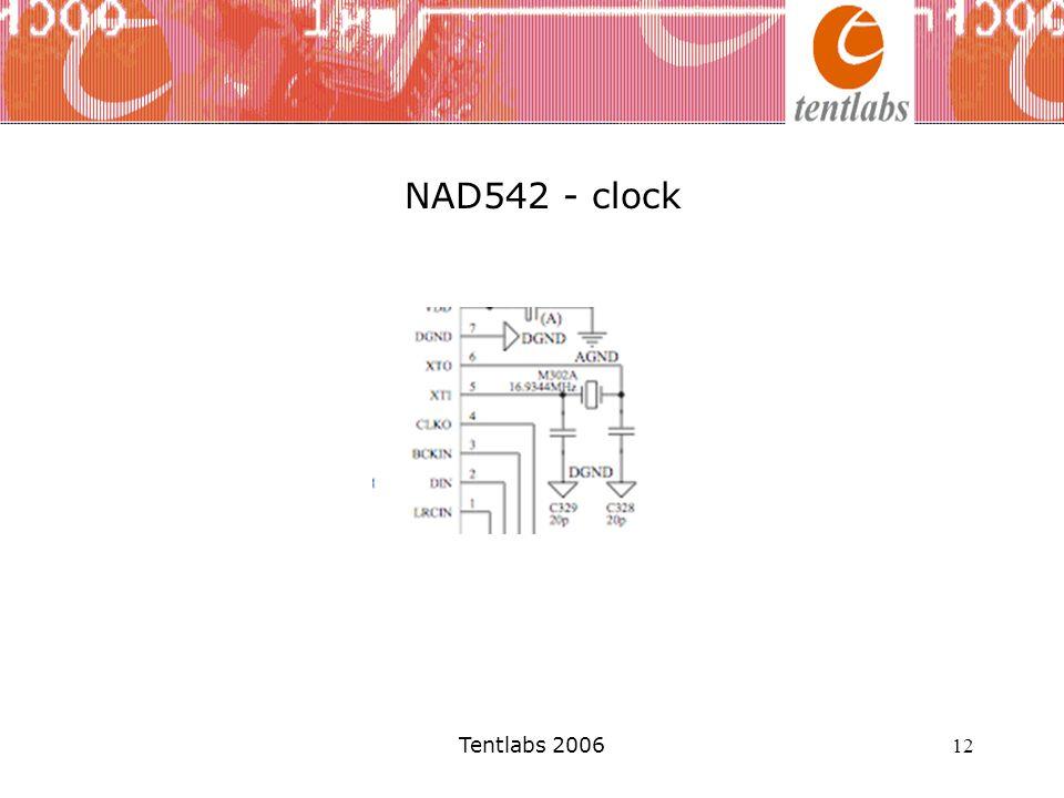 Tentlabs 2006 12 NAD542 - clock