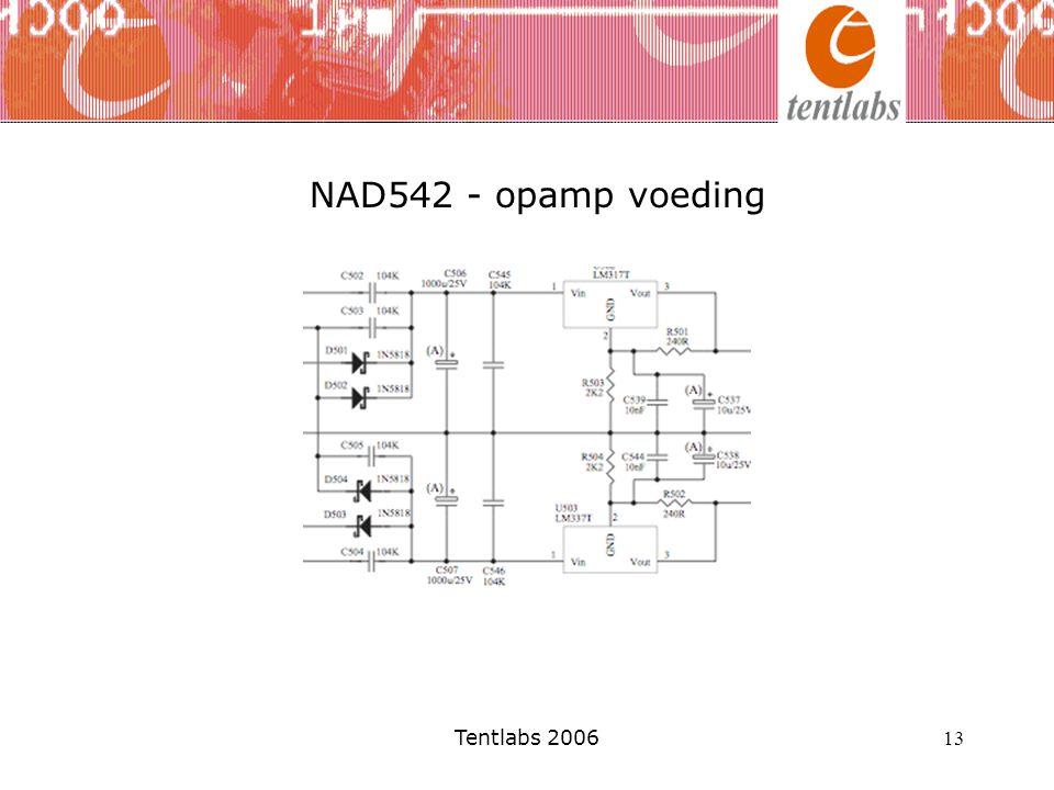 Tentlabs 2006 13 NAD542 - opamp voeding