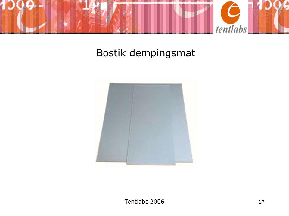 Tentlabs 2006 17 Bostik dempingsmat