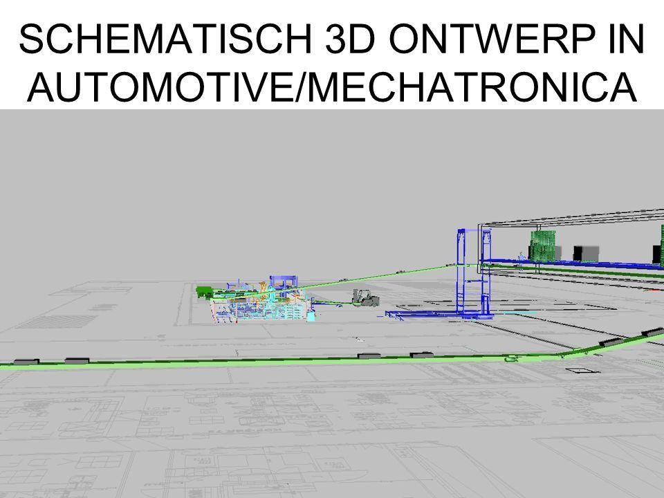 SCHEMATISCH 3D ONTWERP IN AUTOMOTIVE/MECHATRONICA