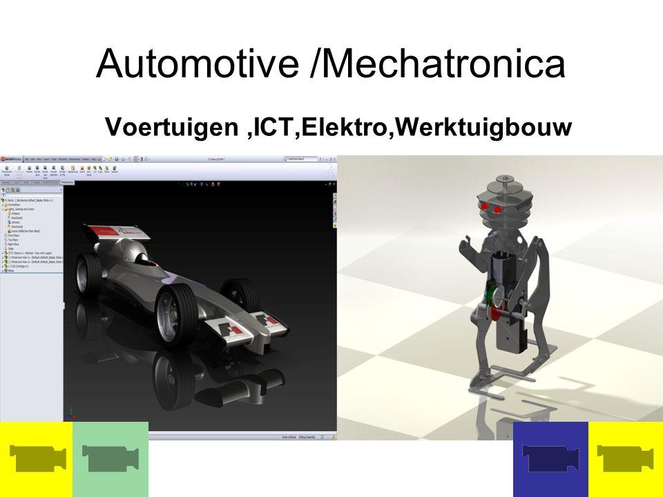 AUTOMOTIVE STRAAT Carrosserie brug Voertuigentechniek Metaaltechniek Elektrotechniek Bouwtechniek Lichtpanneel Canbus www.